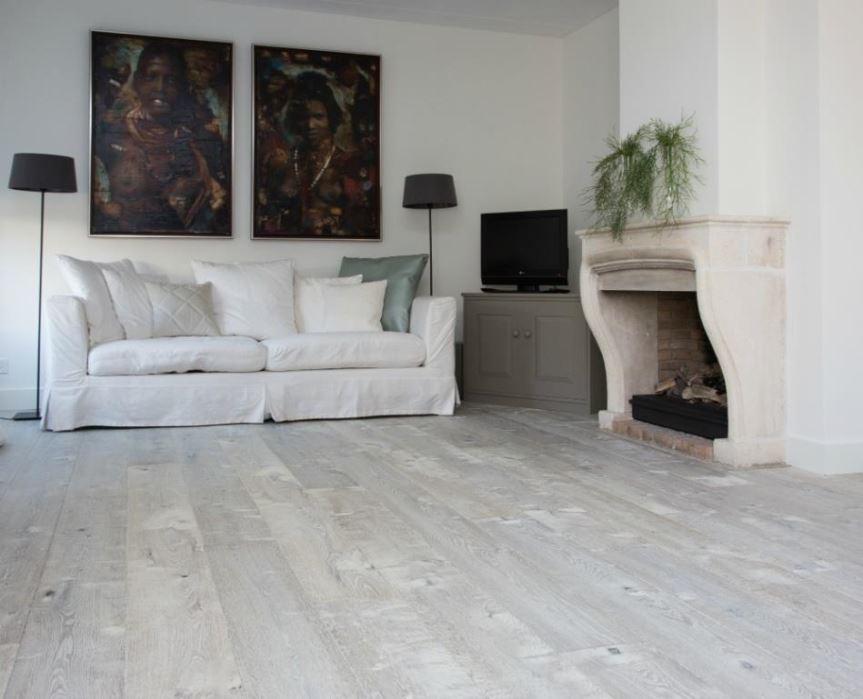 Houten vloer driftwood grey