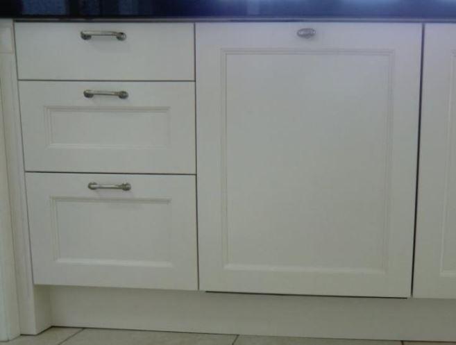Keuken Landelijk Creme : Keuken paneeldeur creme wit