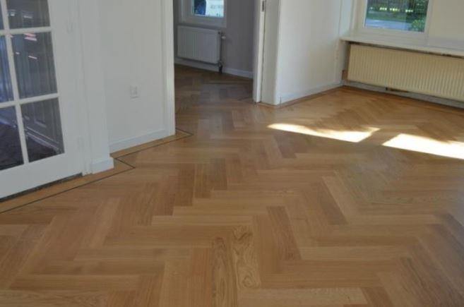 Vloer aanpassen linoleum marmoleum